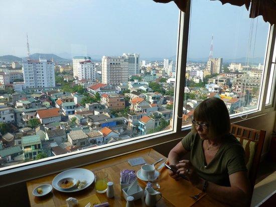 Romance Hotel: Salle à manger où nous prenions les petits déjeuners