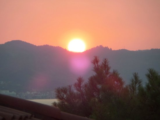 TUI SENSIMAR Marmaris Imperial Hotel : Sunset from the dinning room