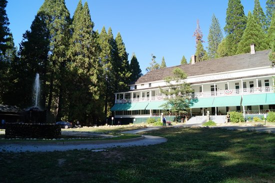 Big Trees Lodge: Главное здание (исторический корпус 1858 г.)