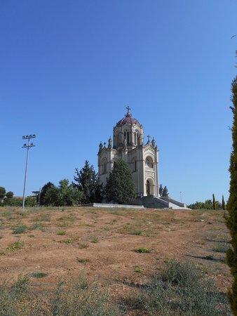 Panteón de la Condesa de la Vega del Pozo: Exterior