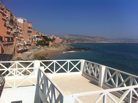 Dfrost Almugar Surf House Taghazout: View from the terrace