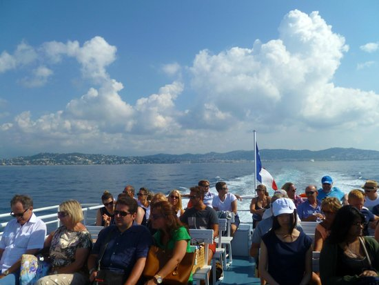 Trans Cote D'Azur: on the boat