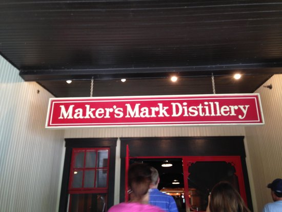 Maker's Mark: Walking Into the distillery