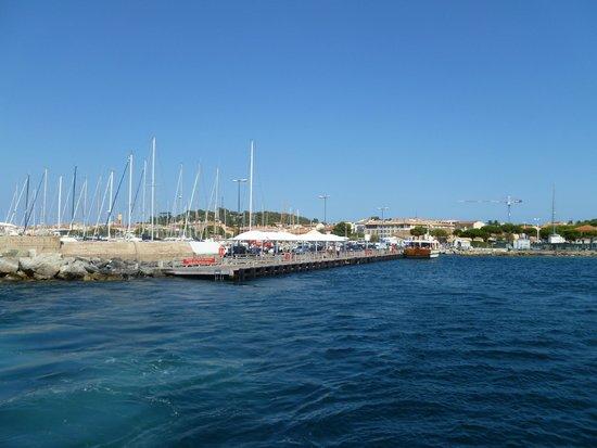 Trans Cote D'Azur: quay at St. Tropez