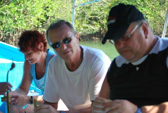 Kilim Karst Geoforest Park: Planning our next tour with Mr Eric Sinnaya'sTteam at Morahols Travel