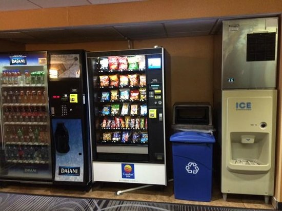 Quality Inn & Suites NJ State Capital Area: vending/ice