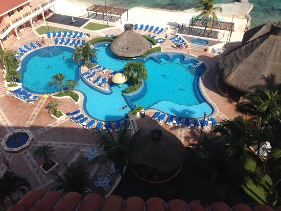 El Cozumeleño Beach Resort: Our view from the room!