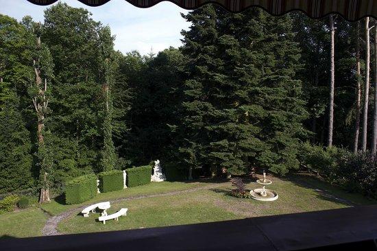 Le Schaentzel : Il giardino visto dalla terrazza