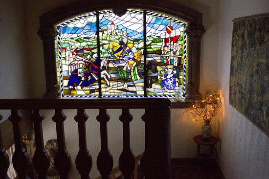 Le Schaentzel : La finestra della scala che porta alle camere