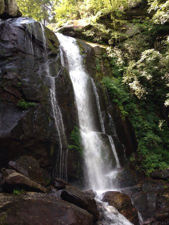 South Mountains State Park: High Shoals waterfall