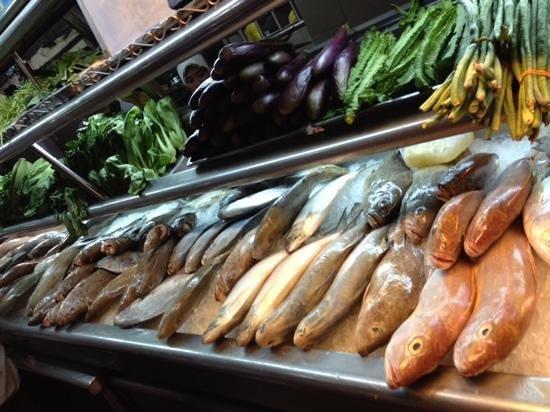 Top Spot Food Court: fresh fish