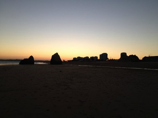 Pestana Alvor Praia: hotel beach sunset