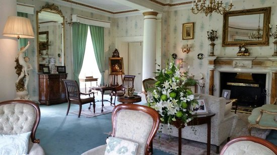 Sitting room at Ballyseede Castle