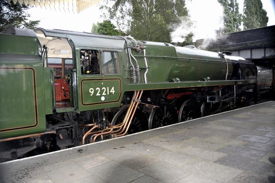 Great Central Railway: loco 92214