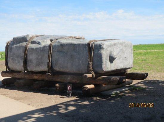 Evan Evans Tours: ストーンヘンジに使われた石の大きさ