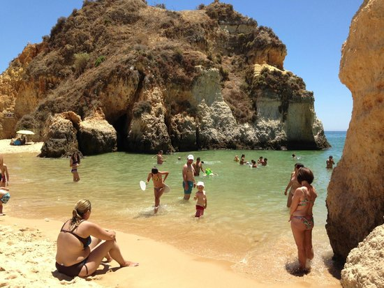 Pestana Alvor Praia: smaller cove at the hotel beach
