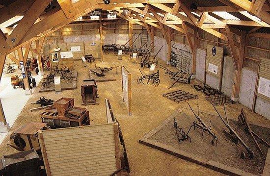 Ecomusée de Plouigneau : Salle des machines