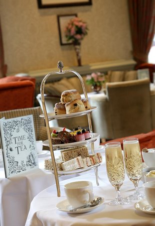 Afternoon Tea at Macdonald Randolph Hotel