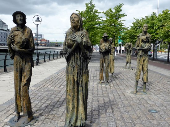 The Famine Sculptures