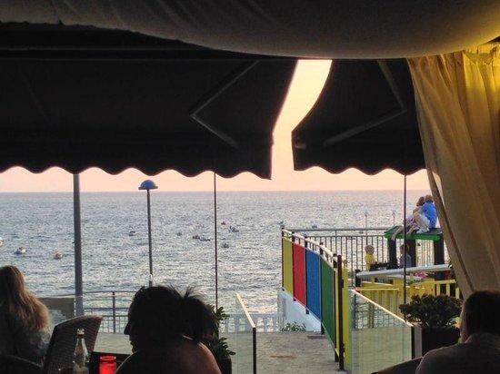 Rosso Sul Mare Restaurant & Wine Bar : Nice view