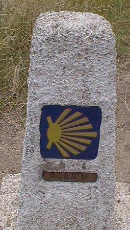 El Camino de Finisterre: indicazione