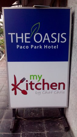 The Oasis Paco Park Hotel: My Kitchen