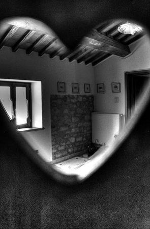 Santa Croce Domus Laetitiae: Uno scatto in HDR in Soggiorno con una cornice particolare