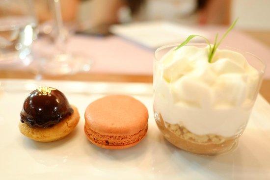 Nathalie's Gourmet Studio : Cafe Gourmand