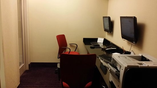 Embassy Suites by Hilton Raleigh - Durham Airport/Brier Creek : Portion of the business center