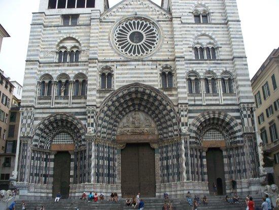 Cattedrale di San Lorenzo - Duomo di Genova : facciata