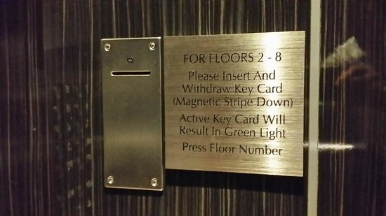 Embassy Suites by Hilton Raleigh - Durham Airport/Brier Creek: Added security requires keys of registered guests for elevators to guest floors