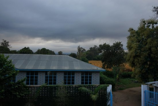 Stella Maris Lodge: View from our balcony [we were in room 114]