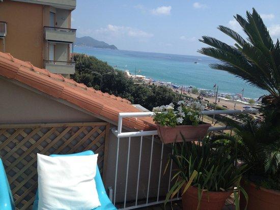 Hotel Tigullio: Panorama solarium