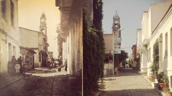 Aliki Konukevi: View from Aliki as it was and is..