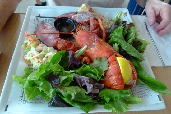 Flavor On The Water: Whole Lobster Dinner