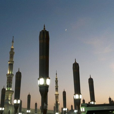 Masjid an-Nabi : Месяц ашшавваль. Кончился рамадан