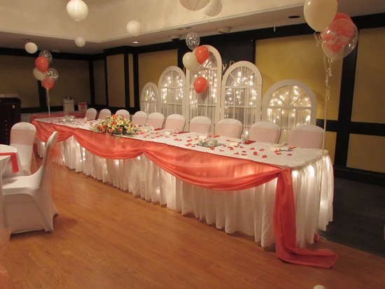 Causeway Bay Hotel Wedding Reception Room