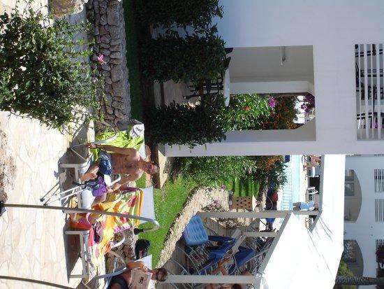 Prinsotel La Caleta : Vistas de la habitación ala piscina