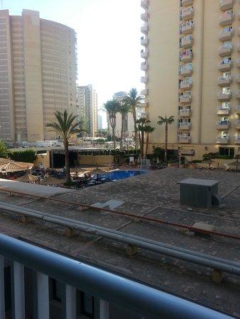Sol Pelícanos Ocas: View from our balcony