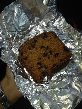 Bod Gwynedd Bed & Breakfast: Bev's homemade fruit cake!