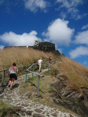 Sandals Halcyon Beach Resort : Hike up to Pigeon Island
