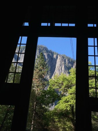 The Majestic Yosemite Hotel: View from the mail dining room