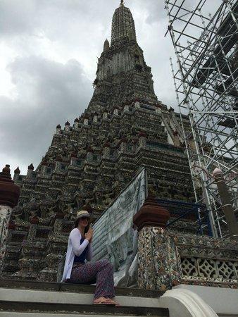 Anantara Riverside Bangkok Resort : wat arun