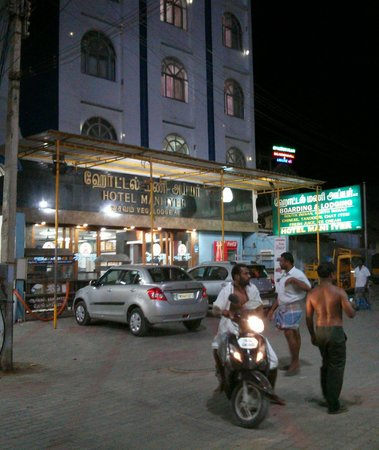 Tiruchendur, India: front view.