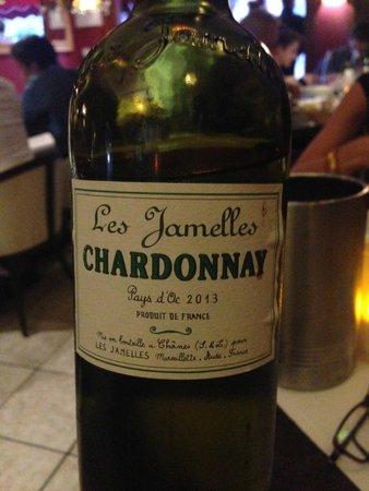 Le Salon des Indépendants : Wine to dinner