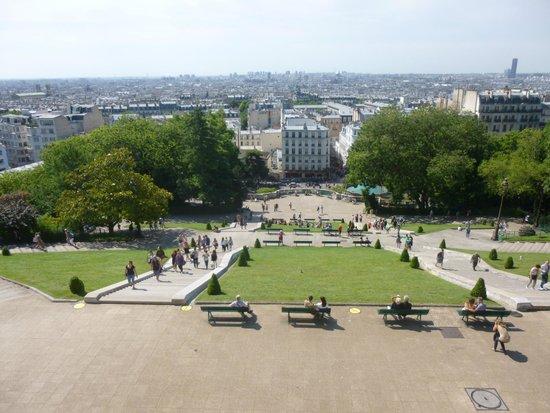 Basilique du Sacré-Cœur de Montmartre : Panorama