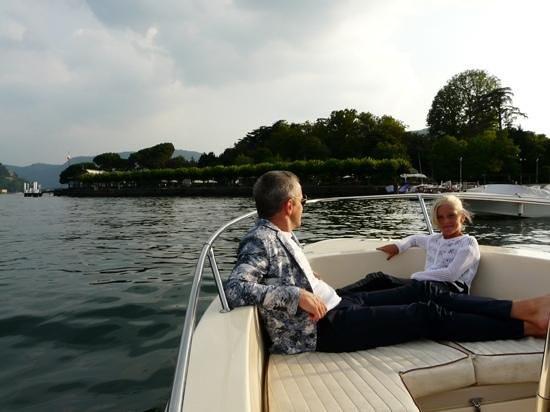 Relais Villa Nina: boat trip on Lago di Como with Federico