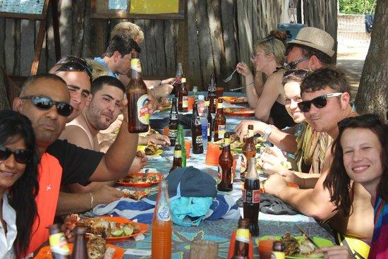 DoubleTree by Hilton Resort Zanzibar - Nungwi : Lunch on Blue safari tour