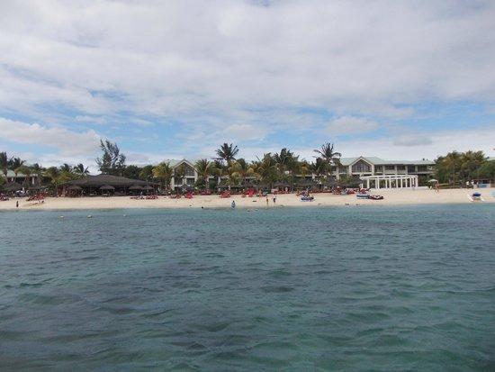 Le Meridien Ile Maurice: Beach Area