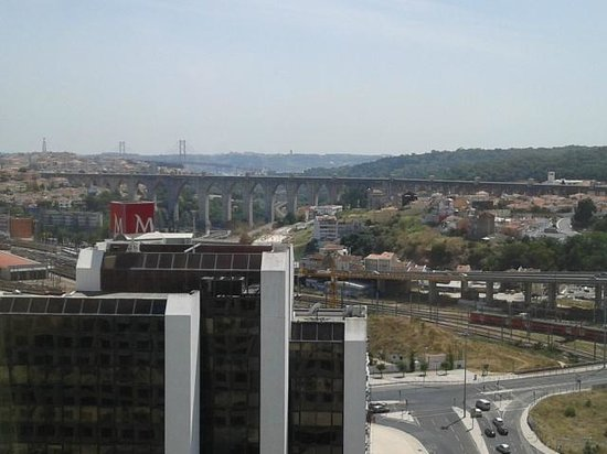 Corinthia Hotel Lisbon: View from the room at 21st floor